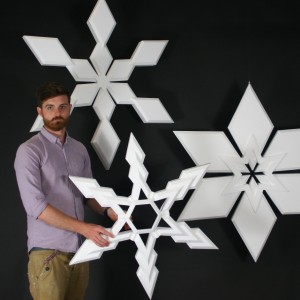 Centrepiece_snowflakes