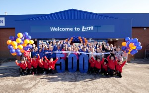 B&M Mansfield. 500th store.