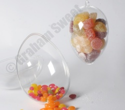 Clear Plastic eggs