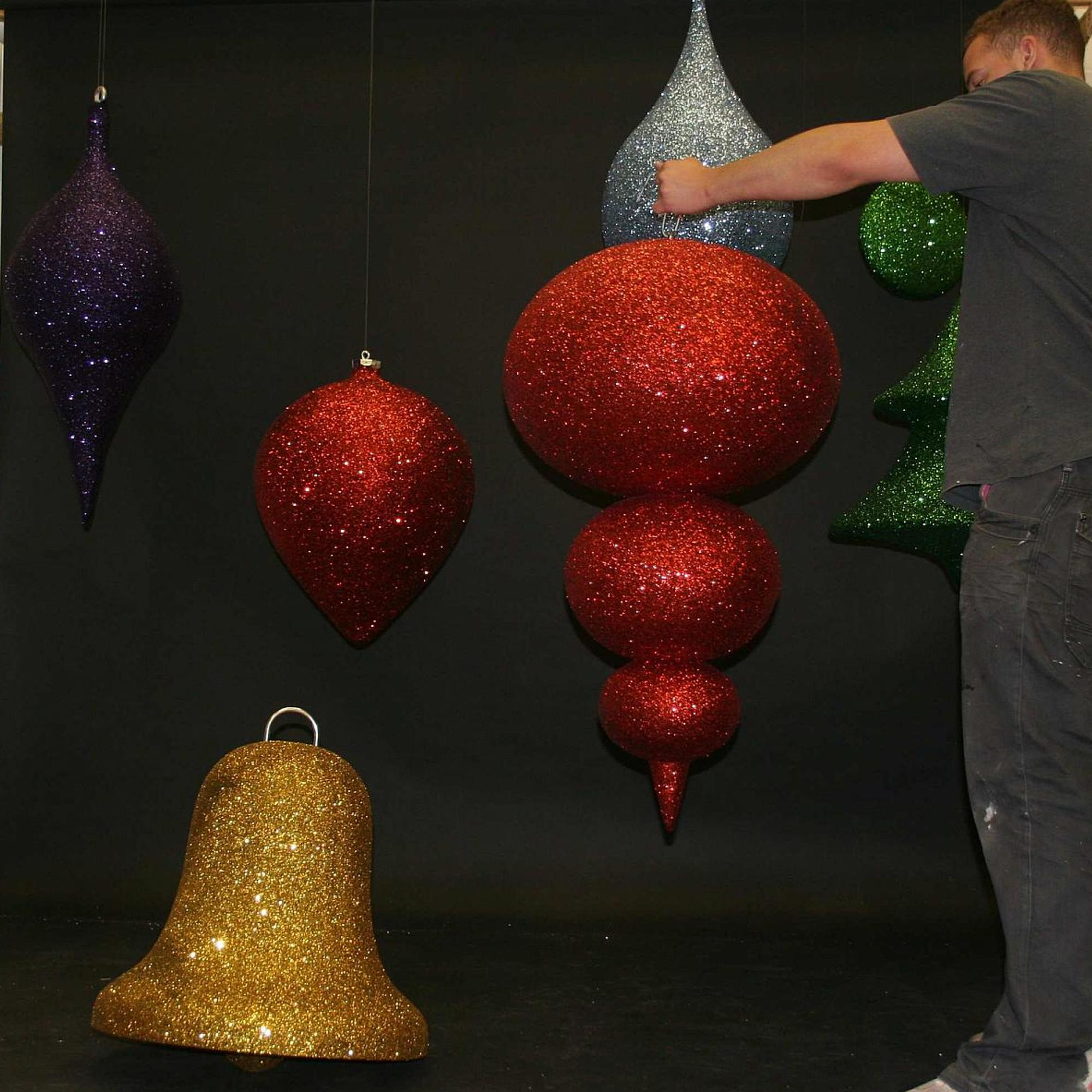 3d hanging commercial christmas decorations for instore for 3d christmas decoration