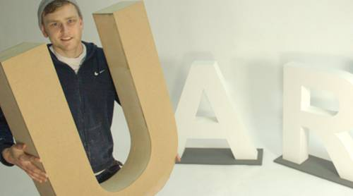 3d wooden - mdf and plywood letters