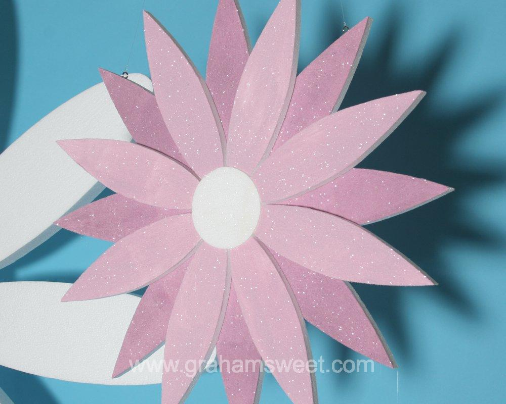 Polystyrene Flower - for spring and summer display ideas