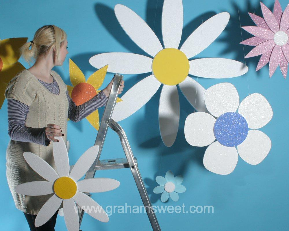 Polystyrene flower props - 180 mm to over 1145 mm high