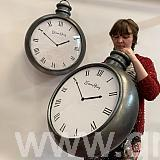 giant polystyrene clocks