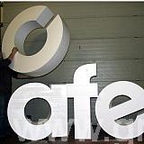 1500 mm high EPS Cafe letters