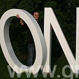 1800mm giant polystyrene one letters