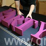 pantone matched - acrylic faced letters2