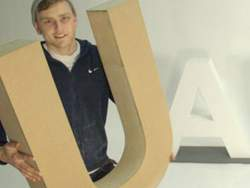 Wooden Letters for retail and window display